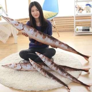 🚚 漫踪艦隊collection鹹魚抱枕(70cm)