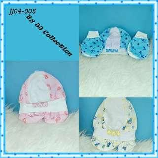 1 set Topi + sarung tangan Baby