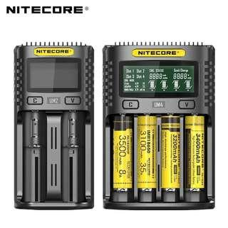 🚚 Nitecore UM2/UM4 Battery Charger Authentic And Tested