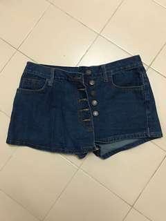 Jeans Short Pants 裤裙