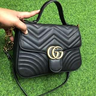 Gucci Marmont with Top Handle