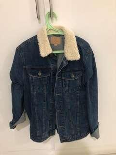 Cotton on denim jacket bukan zara pull amd bear h&m