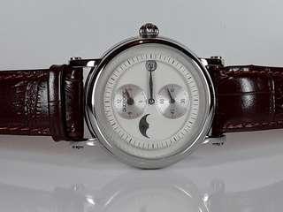 廣州牌手錶- 迪仕蒙- 自動機械 -約42mm(連冠) 全新庫存品- 行走精神- 有說明書及原裝盒- 抵玩!