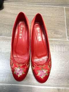 結婚褂鞋 size 39