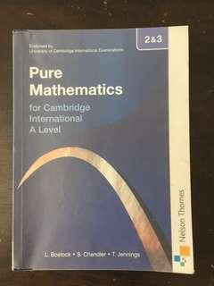Pure Mathematics 2&3 Cambridge A Level ORIGINAL #shero