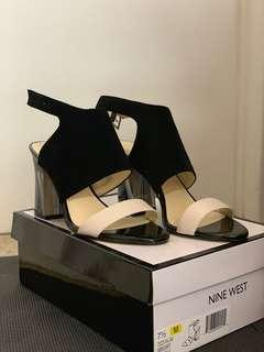 Brand new Nine West block heels