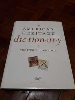 American Heritage English Dictionary