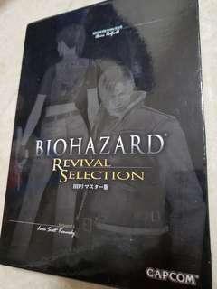 (99.99%新) Xbox 360 Biohazard revival Selection 附特典畫冊