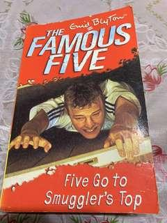🚚 Enid Blyton famous five go to smuggler's top