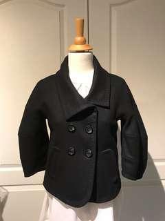 Brand new - BCBG wool coat - black xxs