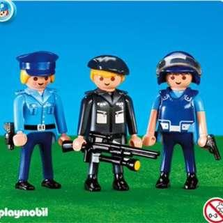 Playmobil add on sets 7385 3 Police Officers Set