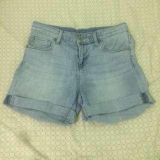 UNIQLO Denim Boyfriend Shorts