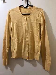PRELOVED Yellow Cardigan