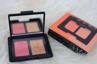 NARS DUO BLUSH ORGASM & HIGHLIGHTER ORIGINAL