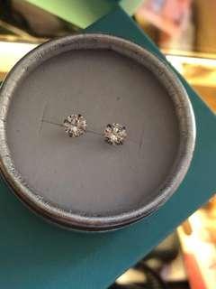仿真鑽石耳環