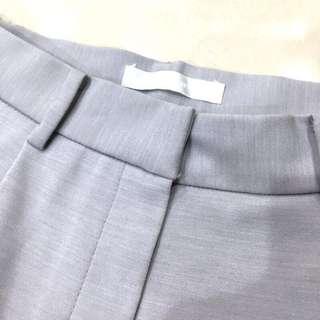 Nude 舊店內設計師款 淡藍挺版打褶直筒西裝褲 studiodoe 葒hong dogoose dresscode