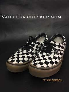 Vans Era Checker Gum size 36