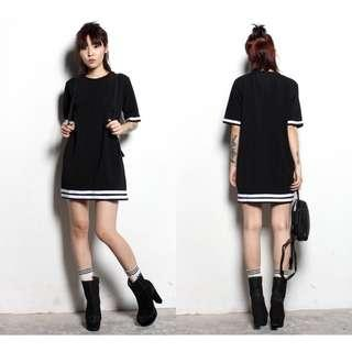 🚚 Young Hungry Free Keep Fit Dress - Black (M)