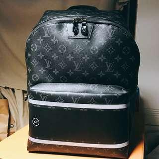 (原價出售)Louis Vuitton Fragment Apollo backpack 藤原浩 後背包 香港行貨