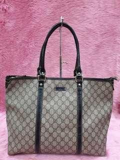 Gucci GG Plus Plated Zip Tote
