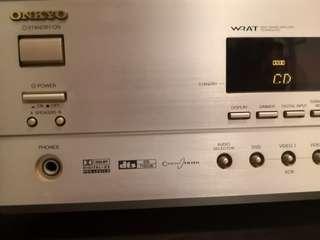 av receiver onkyo TX-SR501, Electronics, Audio on Carousell