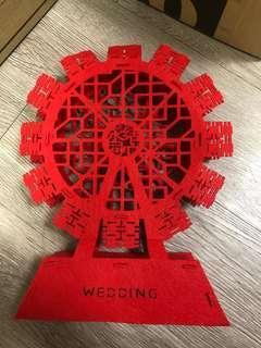 結婚 囍字 裝飾 佈置