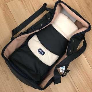 Chicco 手提袋 分隔床 嬰兒床 (0-6個月大) - 附自製背包一個