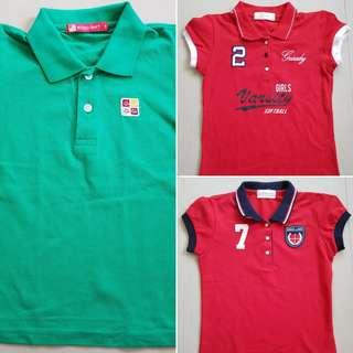 Polo shirt bundle for girls