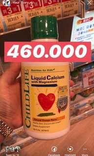"""Child life """" Liquid Calcium with Magnesium"""""""