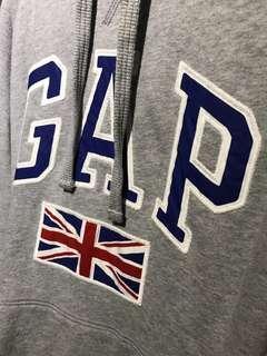 Gap Sweater Grey XL with England Flag