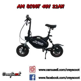 🚚 AM Scoot 48V 21Ah [ In-House Installment Available ]