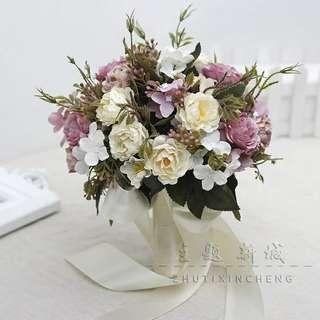 Bridal Wedding Hand Flowers Bouques