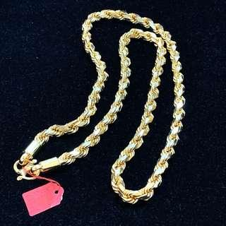 916 Rope Chain (SOLID)