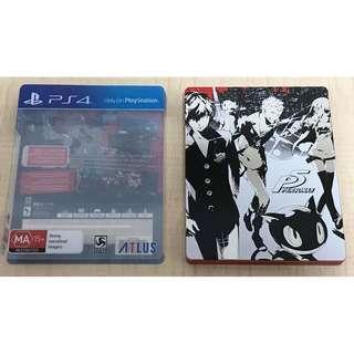 PS4 PERSONA 5 女神異聞錄 英文版 鐵盒 珍藏 版 xbox ns nintendo switch