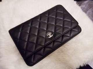 Chanel Woc wallet on chain