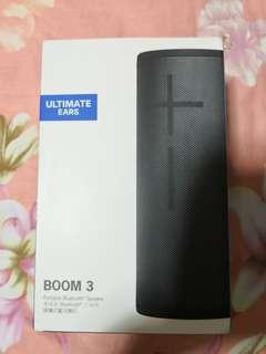 Brand new sealed ultimate ears ue boom 3 speaker not jbl bose Marshall