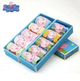Peppa Pig Socks - 1 box isi 5pasang kaus kaki