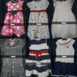 🚚 GIRLS DRESSES