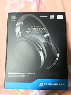 Brand new sealed sennheiser active noise cancelling wireless HD 4.50btnc headphones not bose sony
