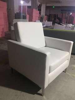 SOFA - SINGLE AND DOUBLE - WHITE