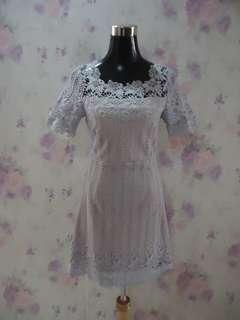 Beautiful Crochet Lace Dress