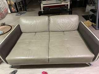 Zolano Leather Sofa For Sales!