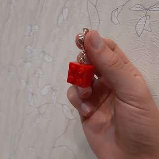 (購買同賣場商品就送)【耳夾】樂高積木無痛正紅色耳夾