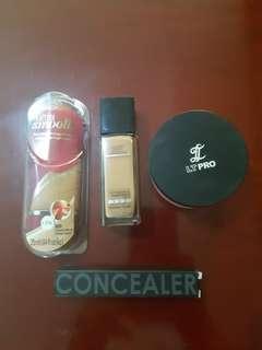 ‼️TAKE ALL Focallure LT Pro Maybelline Cover Girl Concealer Foundation Powder