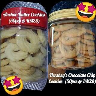 Anchor Butter Cookie / Hershey Chocolate Chip