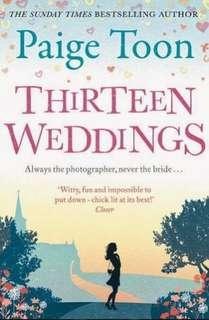 🚚 Thirteen Weddings - Paige Toon