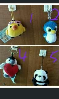 Assorted Keychain Soft Toy