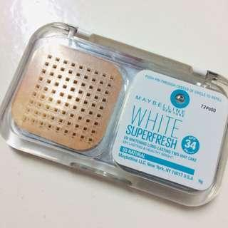 MAYBELINE WHITE SUPER FRESH FOUNDATION