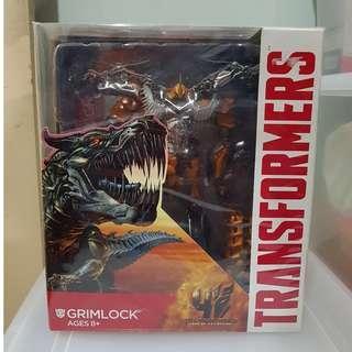BIB Leader Class Hasbro Transformers Movie 4 Grimlock