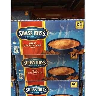 🚚 好市多 Swiss Miss香醇巧克力即溶可可粉 即溶可可粉 巧克力粉 可可粉 巧克力牛奶 隨手包 巧克力飲品 熱飲